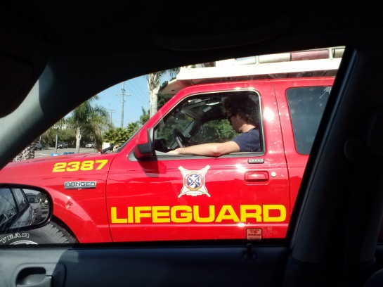 Passed by red lifegueard truck 12:30 pm 2/06/13.