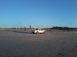12/31/13 @ 427pm- Passed by city or state Lifeguard walking South at beach, Carlsbad, CA.