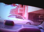 330 pm- Same car passes behind me after I get in my car